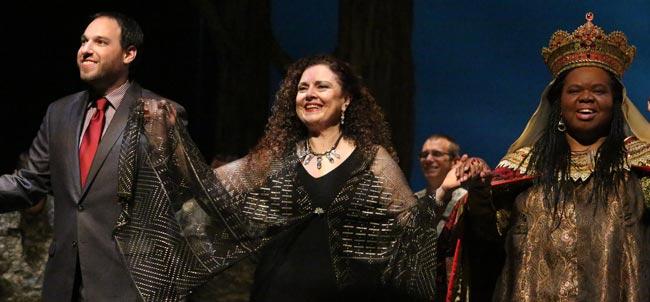 Black Madonna Opera Curtain Call